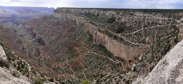 그랜드캐년 명소: 브라이트 엔젤 트레일 (Bright Angel Trail)