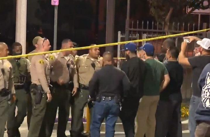 캘리포니아에서 18세 경비원 경찰총에 맞아 사망
