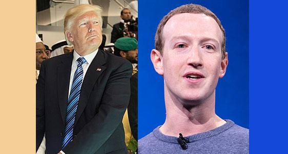 페이스북, '증오에 대한 정책 위반' 이유로 트럼프 광고 철회