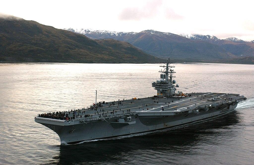 남 중국해에서 군사적 긴장이 고조되고 있는 미국과 중국
