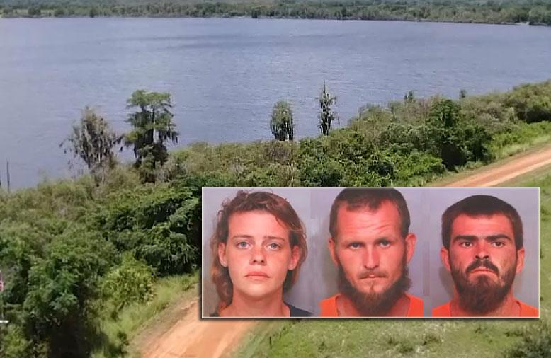 플로리다, 낚시하러 가던 3명의 남자 살해 혐의, 3명의 용의자 체포