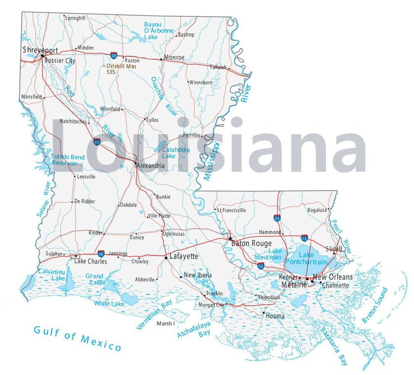 1803년, 루이지애나를 프랑스로부터 사들인 미국