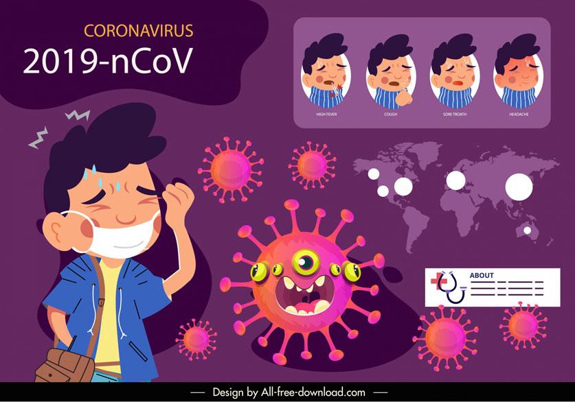 COVID-19와 알레르기, 독감, 감기등 가을 질환의 증상 구별 방법