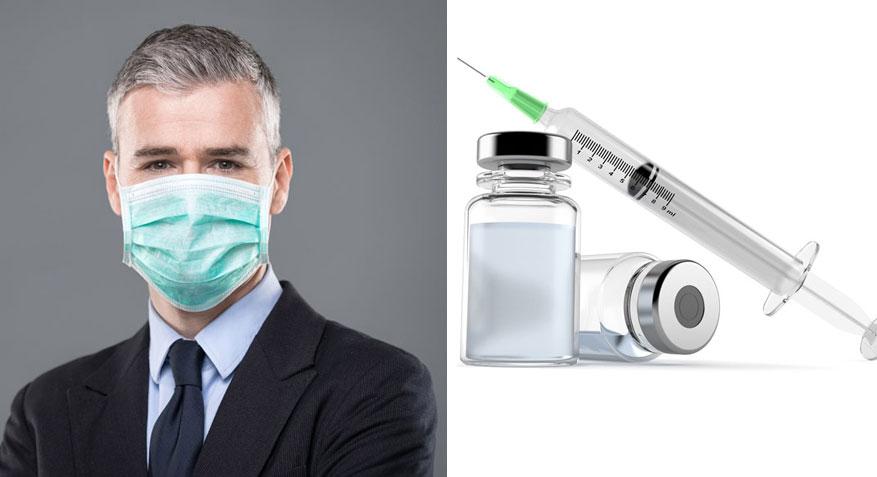 일부 연구자들, 이전 백신접종과 마스크 Covid-19 억제할 수 있어