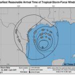 또 다시 열대성 폭풍 베타 멕시코만에 출현, 휴스턴 영향권
