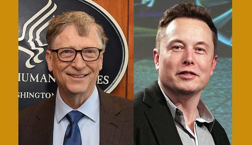 """엘론 머스크, 빌 게이츠가 전기 트럭 의문제기하자, """"당신이 뭘 안다고"""""""