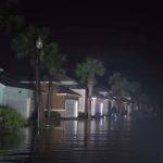 샐리로 인한 홍수피해를 입고 있는 앨라배마와 플로리다 주