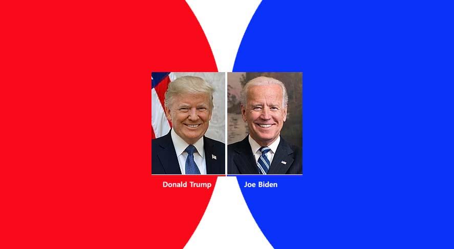 미국 대통령 후보 전국 최근 여론조사 현황
