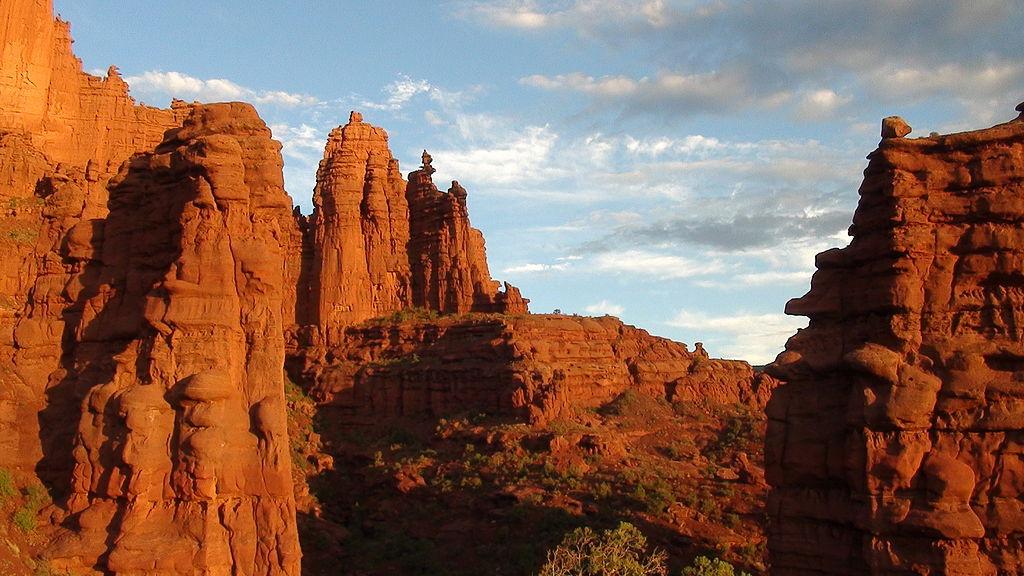 유타주에 있는 모앱(Moab)으로의 여행