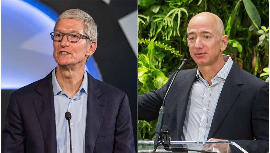 애플과 아마존 주식중 어느 것이 더 좋을까?