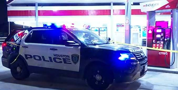 휴스턴 경찰, 한 남자 주유소에서 총에 맞아 숨진 채 발견