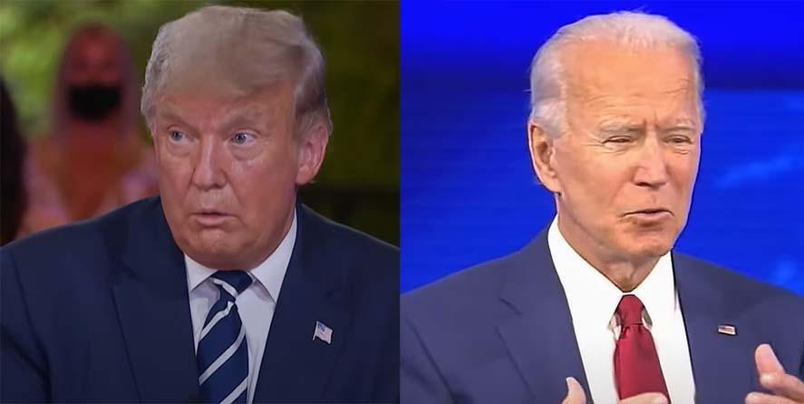 목요일 밤에 진행된 두 대선 후보들의 토론평가