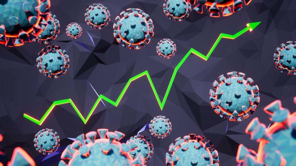 심상치 않은 코로나바이러스 확진증가와 그 현황