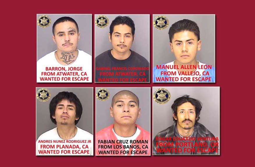 직접만든 밧줄로 감옥 탈출한 6명의 캘리포니아 수감자들