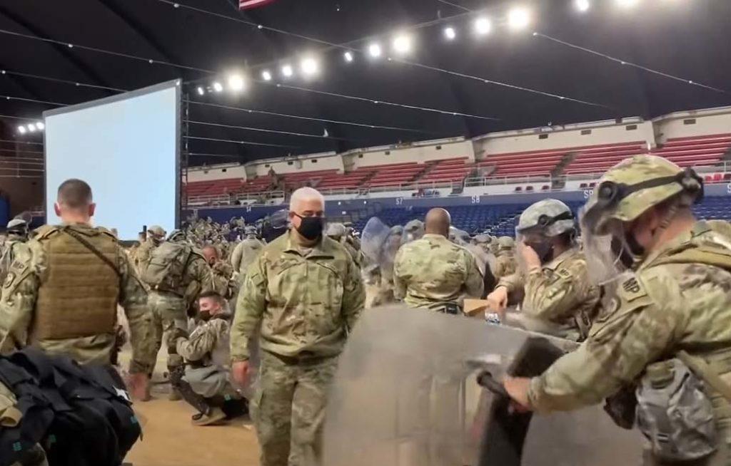 이라크, 아프가니스탄 배치병력 보다 더 많은 병력 취임식에 배치