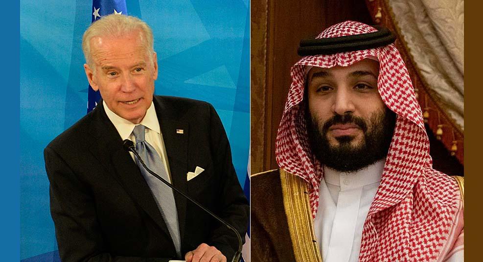 바이든, 사우디 기자 사망관련 사우디 왕세자 제재 철회