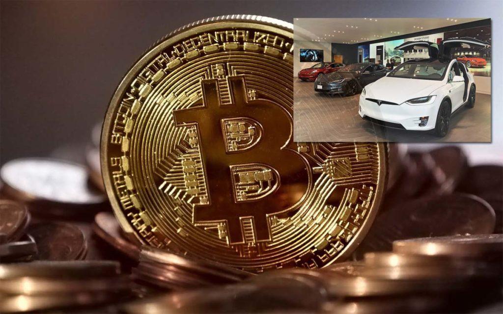 테슬라, 15억 달러치 비트코인 구매, 자동차 판매시 비트코인 결제 시작