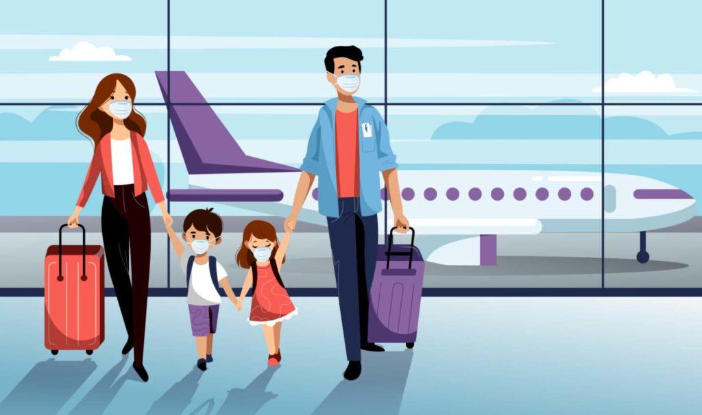 미 교통안전청, 마스크착용 위반 여행객들 1,500달러 이하 벌금