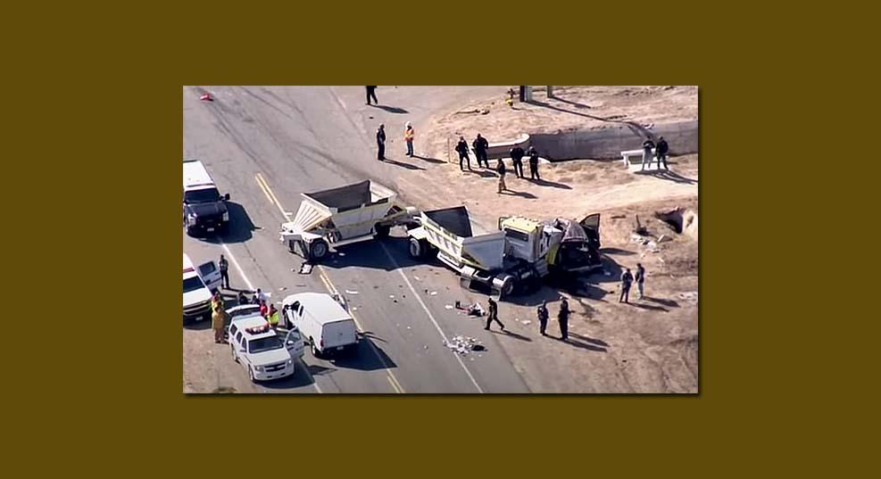 12명 이상의 사망자 낸 캘리포니아 교통사고 인신매매와 관련