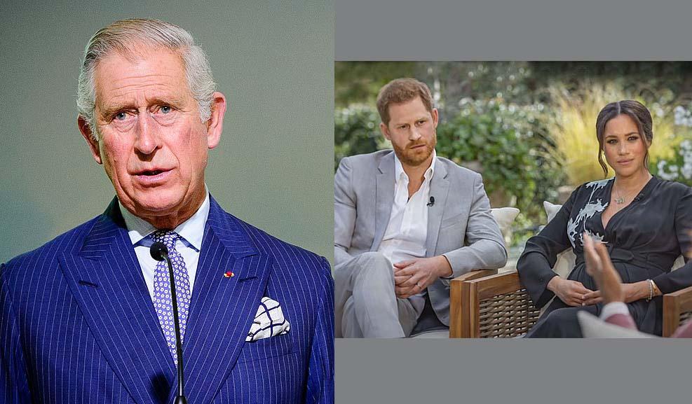 """메건과 해리 왕자의 인터뷰 이후 찰스 왕세자, """"절망 그 자체"""""""