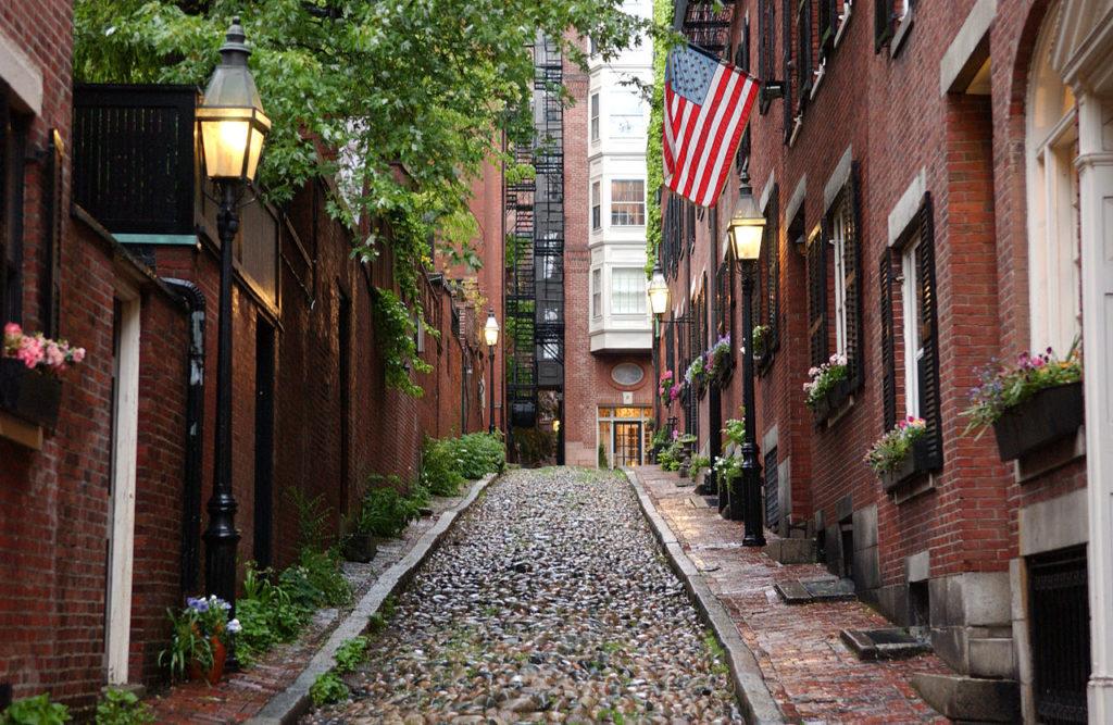 보스턴(Boston)으로의 여행