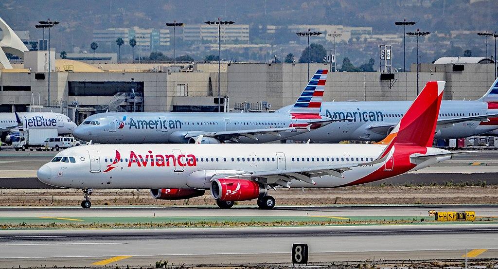 LA 공항에서 움직이는 비행기 에서 뛰어내린 한 남자 체포