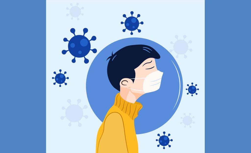 코로나19 델타 변종, 완전 백신 접종자들도 마스크 착용해야