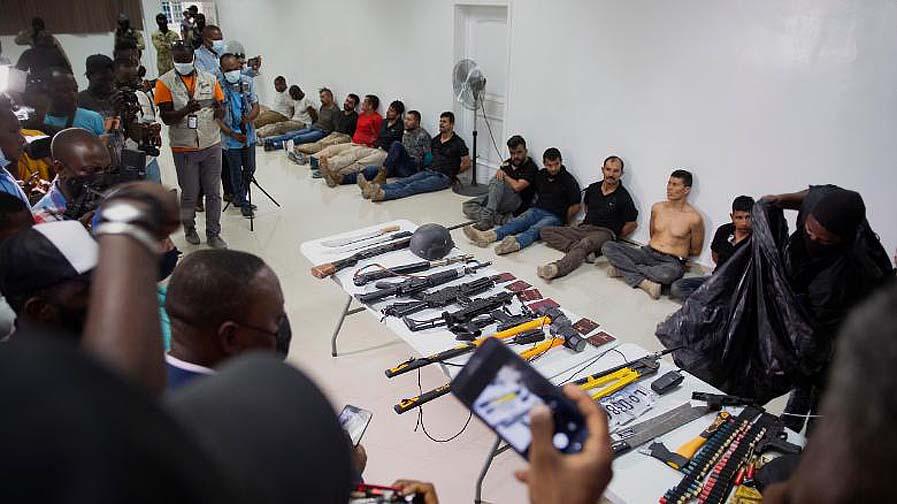 아이티 대통령 암살에 미국인 2명과 콜롬비아 퇴역 군인 연루