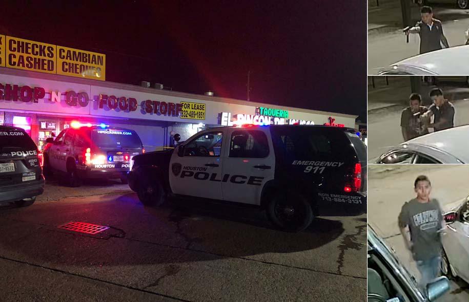 휴스턴 남서부 지역, 남성 2명 반자동 기관총으로 한 남성 사살