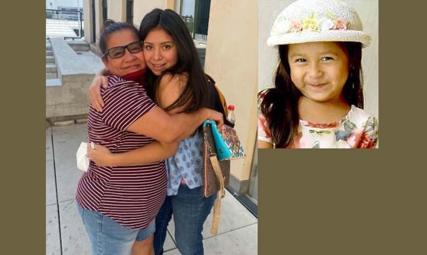 2007년 6세때 납치된 딸과 재회한 엄마