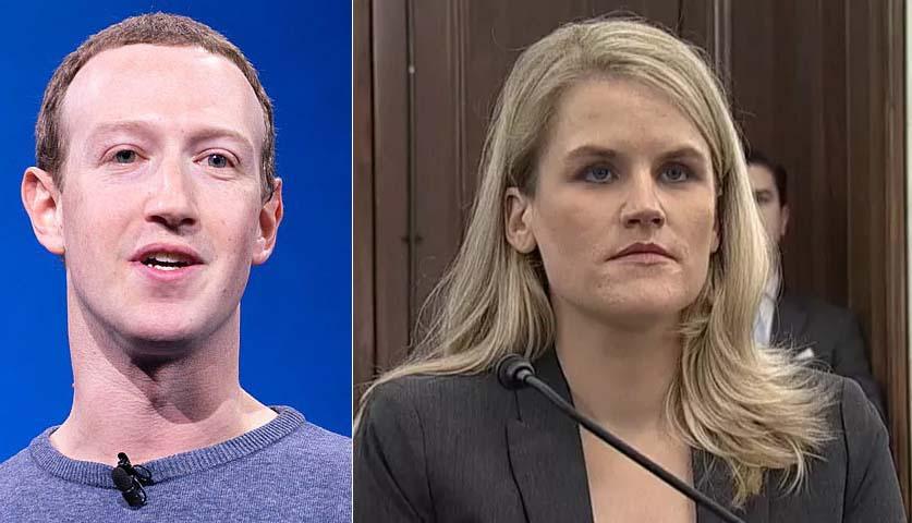 """페이스북 내부 고발자 프랜시스 하우겐, 소셜네트워크 """"어린이와 민주주의에 악 영향"""""""