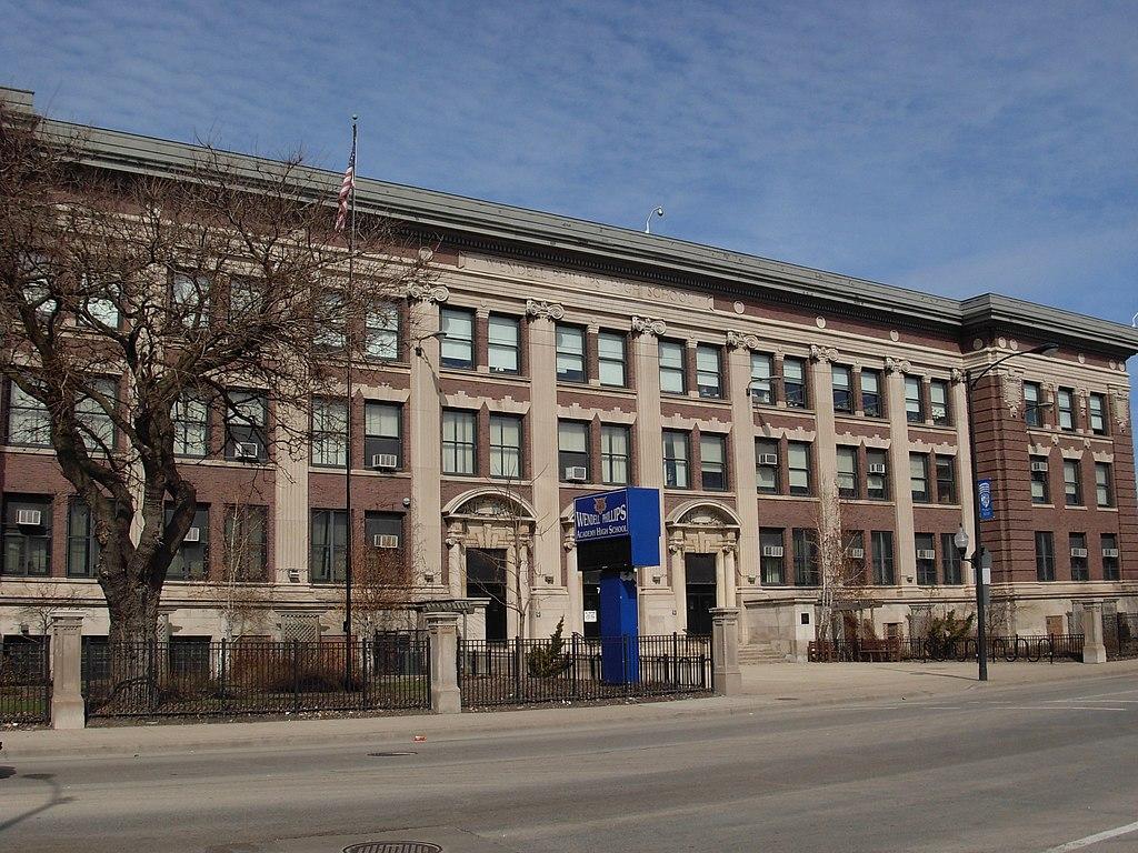 시카고의 한 고등학교에서 십대 소녀와 경비원 총격 당해