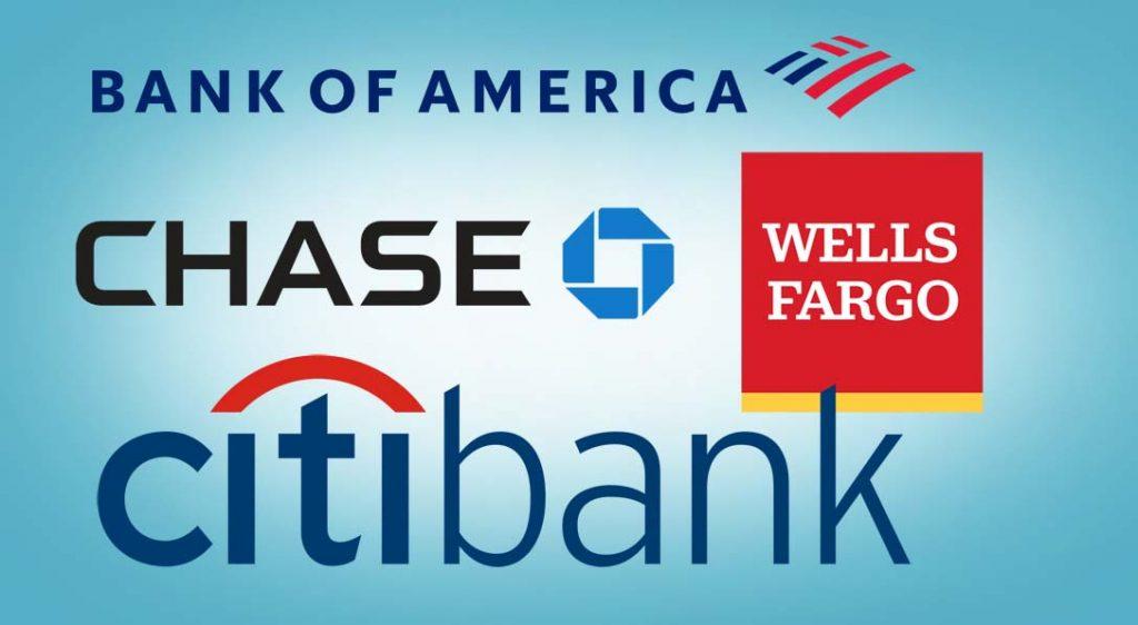 미국의 최대 은행들 호황 누리는 가운데 전체 주가 급등