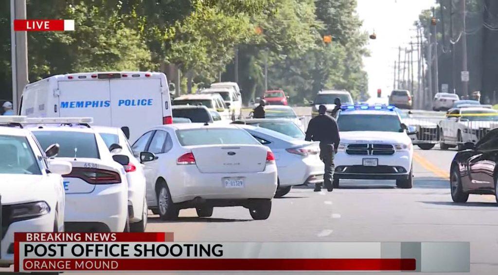 USPS 직원 2명과 총격범 포함 총 3명 총격 사망