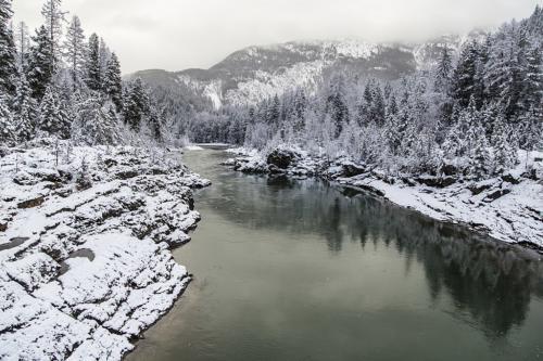 Winter on the Flathead River