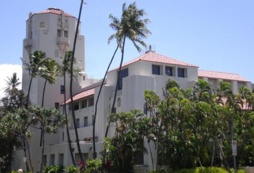 Honolulu Hale front corner view