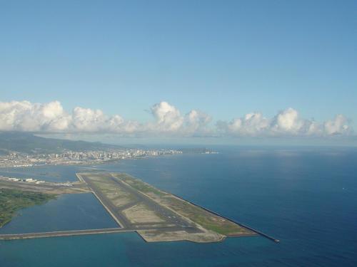 HNL reef runway