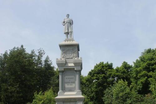 Civil War Monument at Bar Harbor