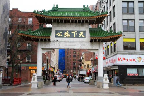 Boston Chinatown Paifang