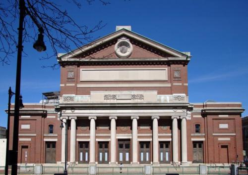 Boston Symphony Hall from the south