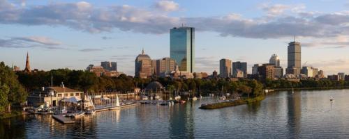 Boston skyline from Longfellow Bridge