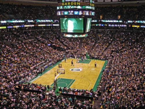 Celtics game versus the Timberwolves February 1 2009