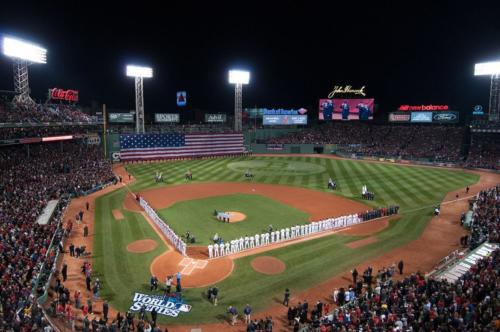 Hanscom participates in World Series pregame events