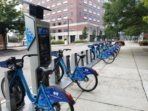 Ruggles Bluebikes station