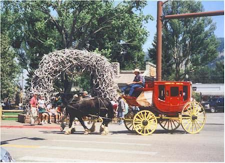 Wy Jackson tsquare stagecoach