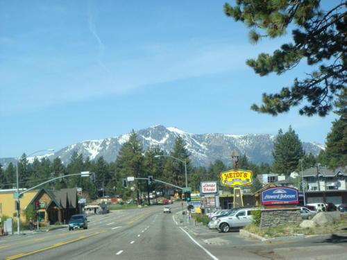 50 through South Lake Tahoe by Mark Miller