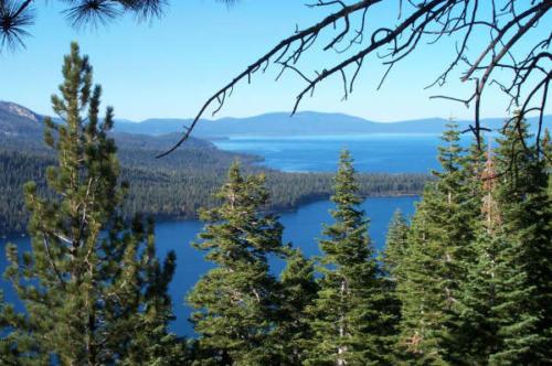 Fallen Leaf Lake and Lake Tahoe South Shore