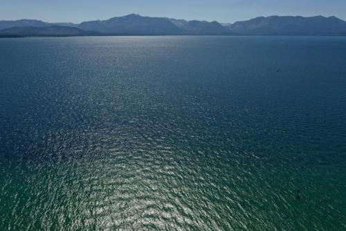 Lake Tahoe, view of California from Nevada side