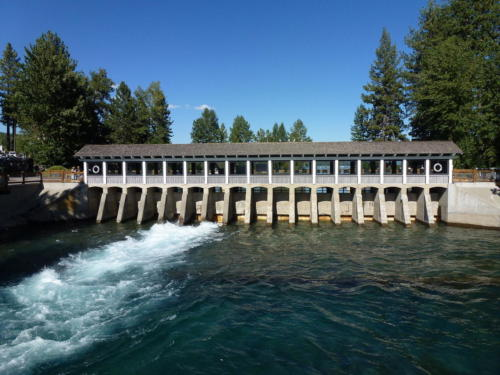 Lake Tahoe Dam 1