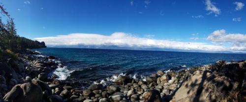 Lake Tahoe Near Cave Rock